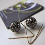 Pendulum earrings - filigre..