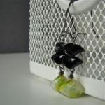 Lemonade and bees earrings ..